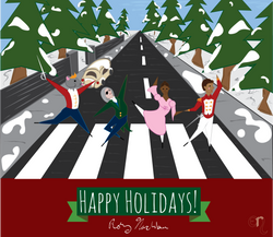 Pirouetting Across Abbey Road
