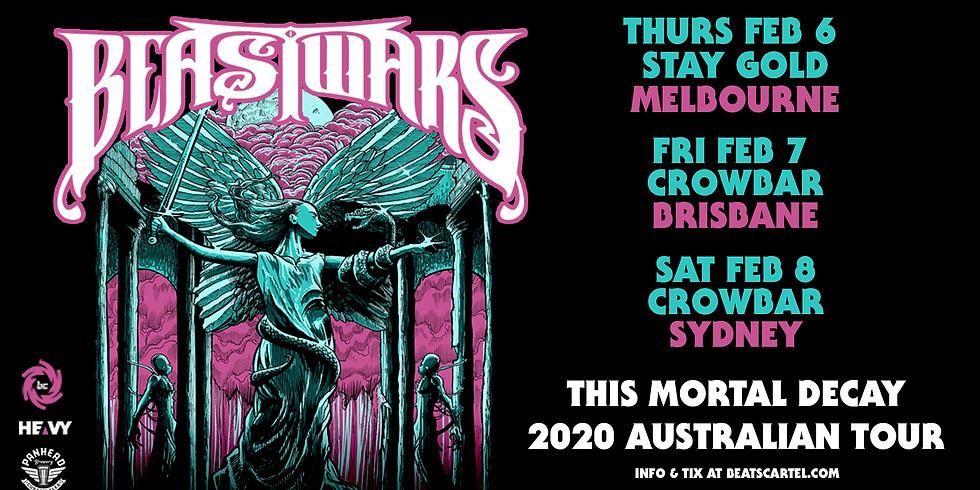 BEASTWARS (NZ) Australian Tour BRISBANE