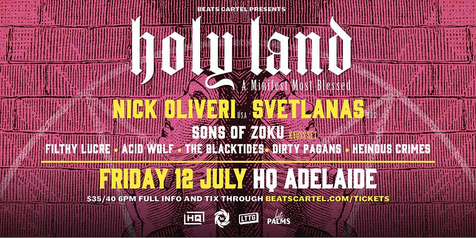 NICK OLIVERI and SVETLANAS 2019 AUSTRALIAN TOUR | ADELAIDE