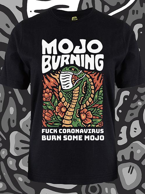 Mojo Burning FUCK CV TEE
