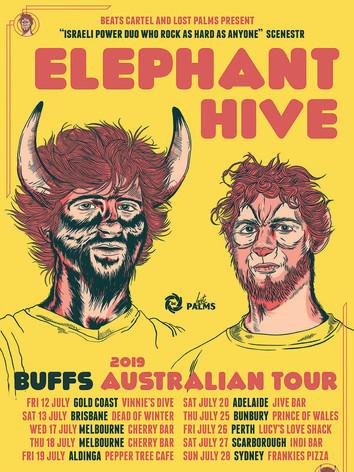 ELEPHANT HIVE AUS TOUR POSTER WEB UPDATE