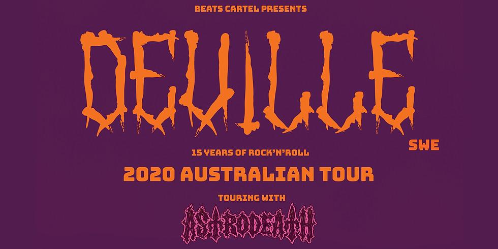 DEVILLE AUSTRALIAN TOUR: The Tote