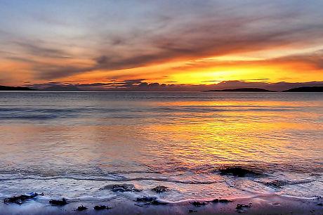 Summer sunset over Gairloch