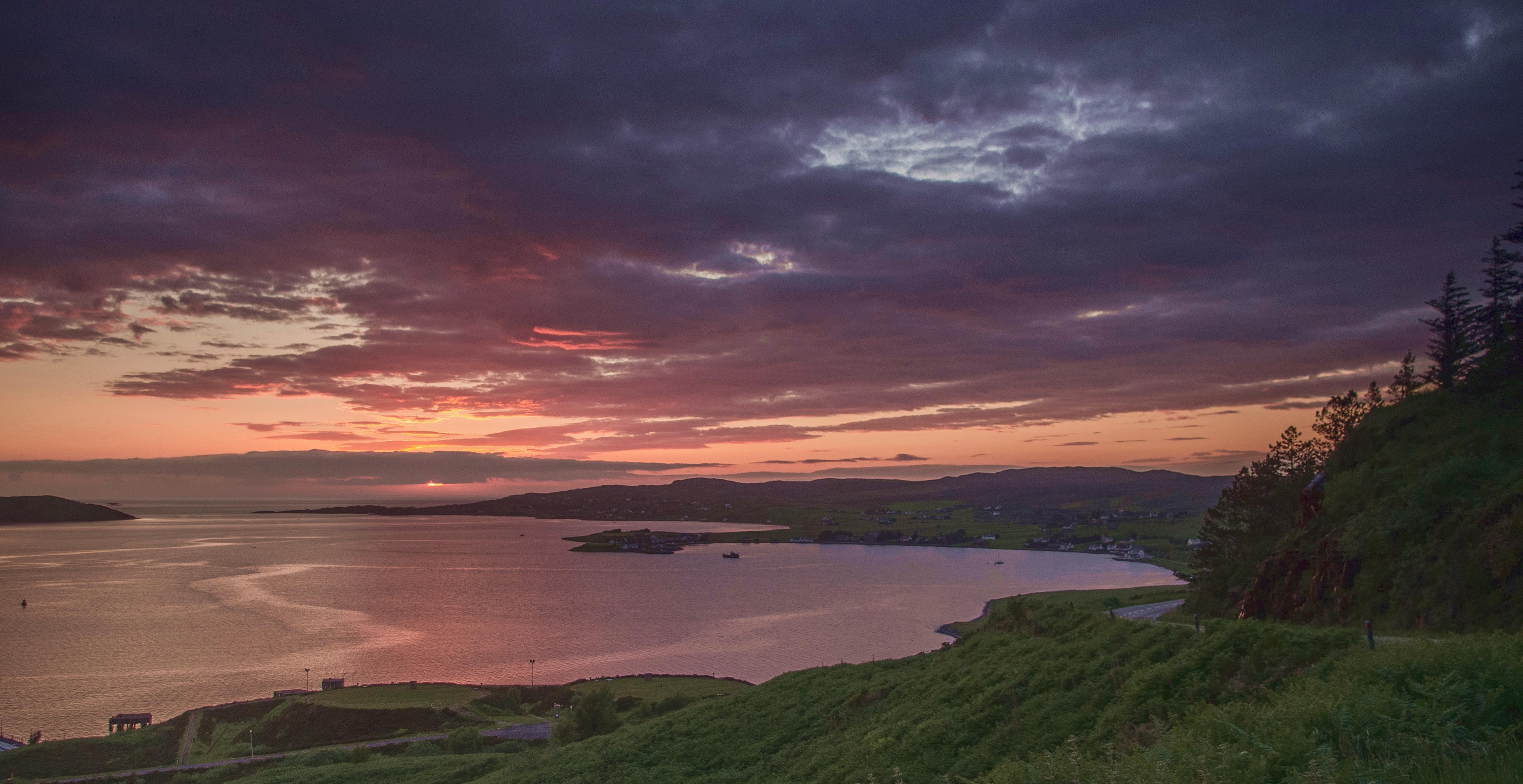Loch Ewe sunset