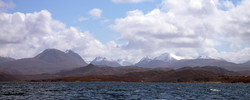 The Torridon Mountains from Gariloch