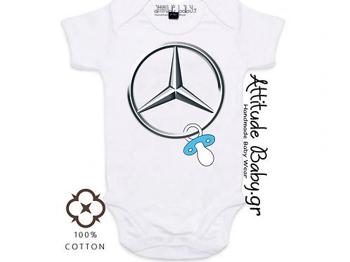 Φορμάκι / T-shirt παιδικό MERCEDES με στάμπα