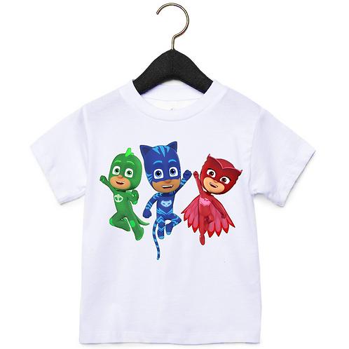 Παιδικό Μπλουζάκι PJ Masks