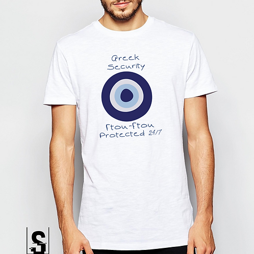 T-shirt Ανδρικό Τουριστικό Χονδρική με στάμπα