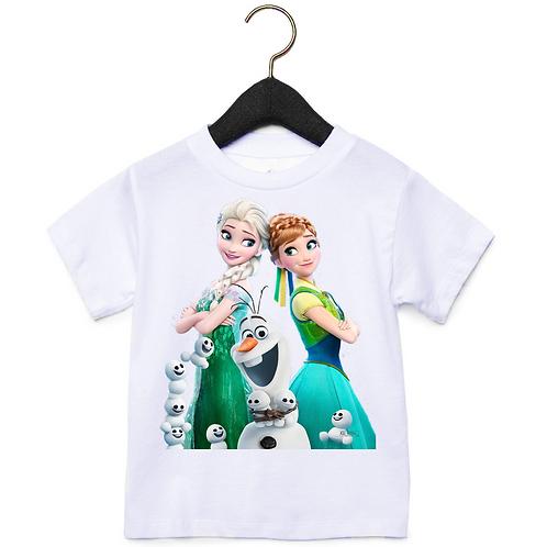 Παιδικό Μπλουζάκι Frozen