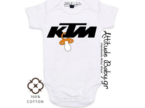 Φορμάκι / T-shirt παιδικό KTM με στάμπα