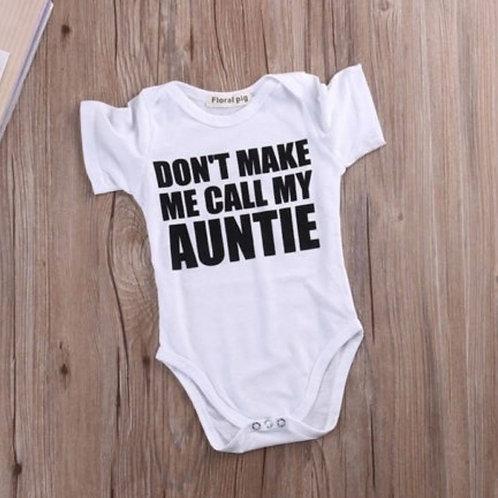 call my auntie