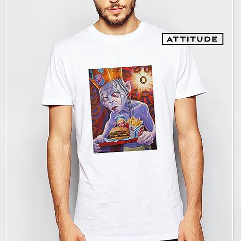 Aνδρικό T-shirt με στάμπα