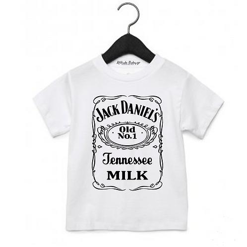 T-shirt παιδικό Jack Daniel's με στάμπα