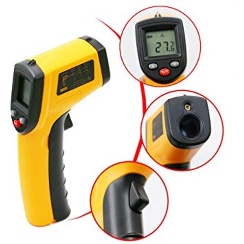 Laser ψηφιακό θερμόμετρο με infrared - μέτρηση θερμοκρασίας από απόσταση