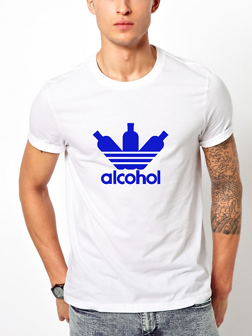 Ανδρικό T-shirt με στάμπα