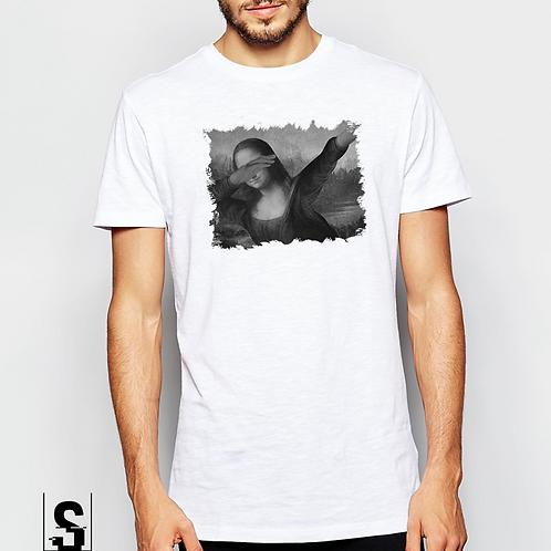 T-shirt με στάμπα Μόνα Λίζα
