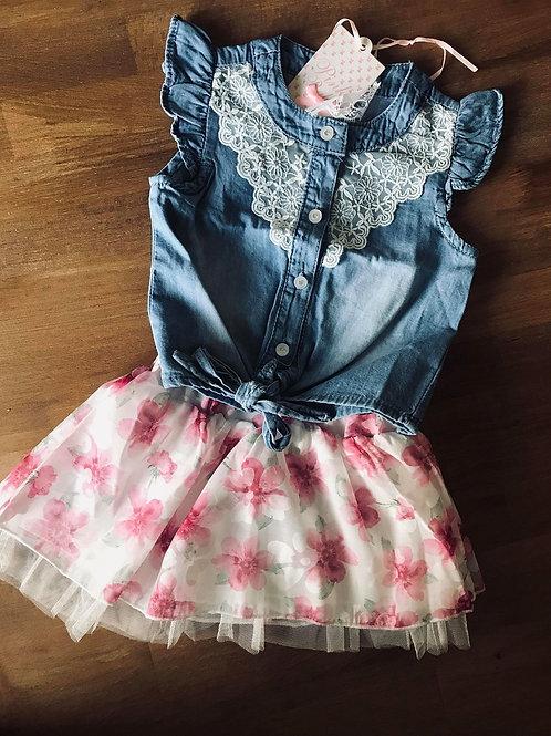 SET πουκάμισο & φούστα