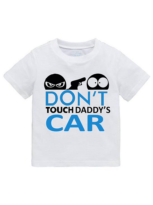 Παιδικό Μπλουζάκι Daddy's Car