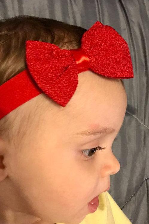 Βρεφική παιδική κορδέλα μαλλιών για κορίτσι φιόγκος