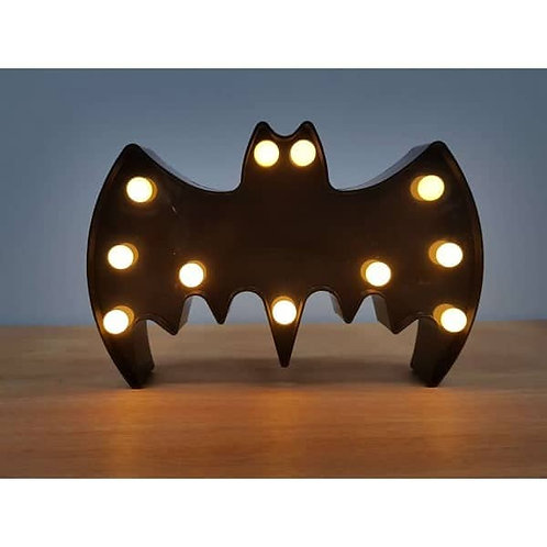 Φωτιστικό Batman με 11 LED  16x22εκ