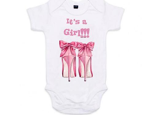 It is a girl