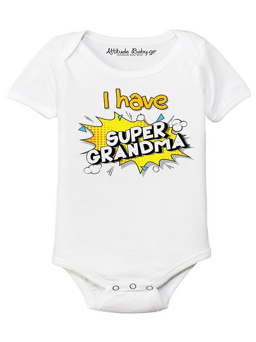 Φορμάκι / T-shirt παιδικό STABA.GR Super Grandma