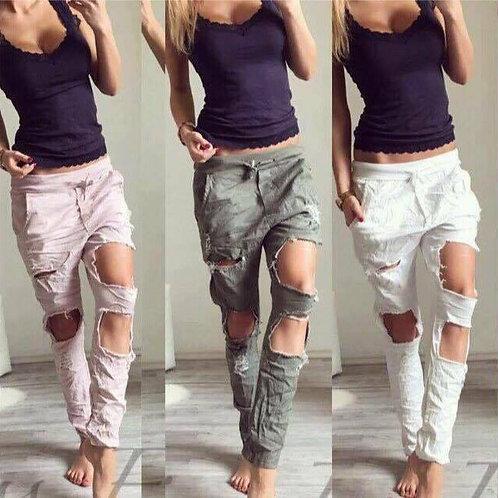 Παντελόνι υφασμάτινο ελαστικό