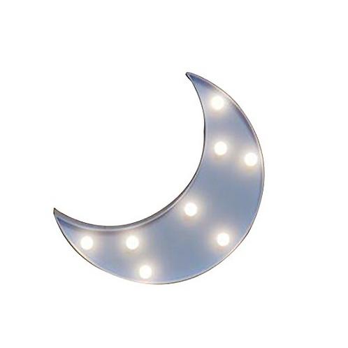 Φωτιστικό Φεγγάρι με 8 LED  24x19εκ