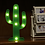 Thumbnail: Φωτιστικό Κάκτος με 8 LED  25x14εκ