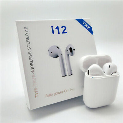 Airpods i12 Touch Λευκό