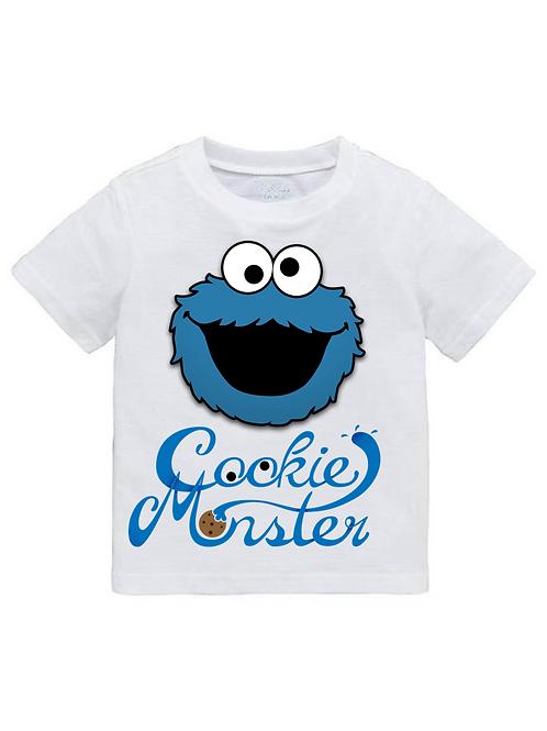 Παιδικό Μπλουζάκι Cookie Monster