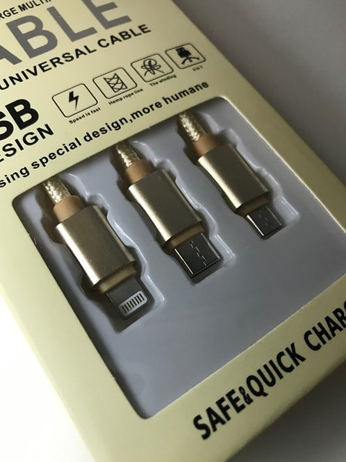3 IN 1 Universal cable