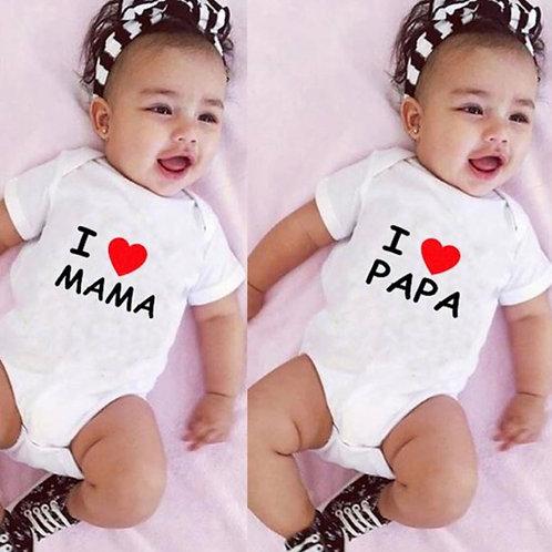 i love papa/mama