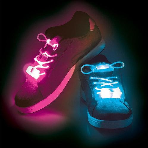 Φωτιζόμενα κορδόνια παπουτσιών LED
