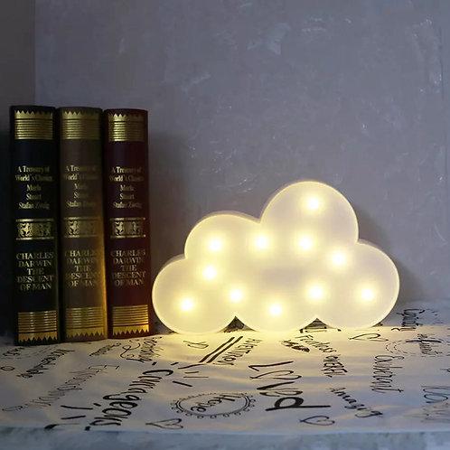 Φωτιστικό Σύννεφο με 11 LED  18x29εκ