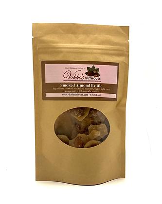Smoked Almond Brittle
