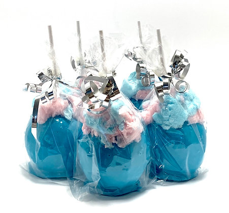 Cotton Candy Candy Apple (Pack of 3)