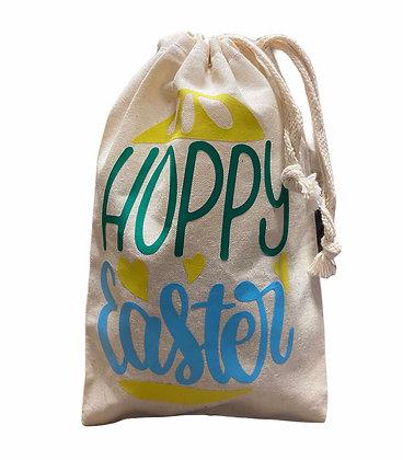 Hoppy Easter Muslin Bag