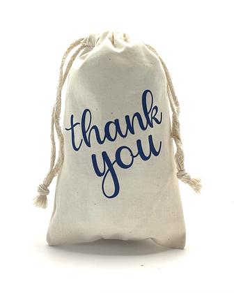 Thank you Muslin Bag
