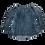 Thumbnail: GUSOO Washed Navy Blouse