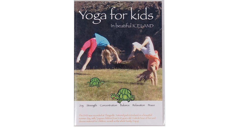 Yoga for Kids - in beautiful Iceland