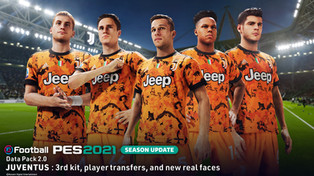 eFootball PES 2021 Season Update Data Pack 2 out now.