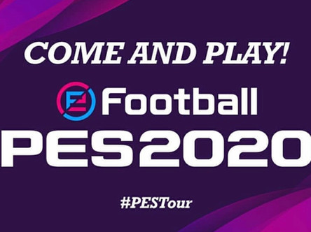 All aboard the PES Bus! eFootball PES 2020 UK tour.