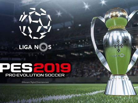 Liga NOS to debut in PES 2019: Liga Portugal announcement.