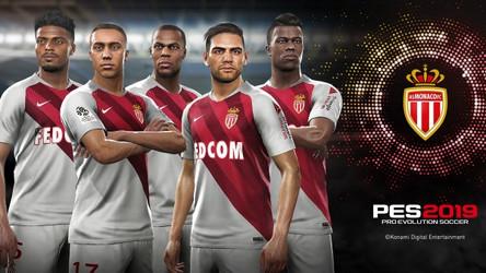 AS Monaco announced as PES 2019 partner club + more.