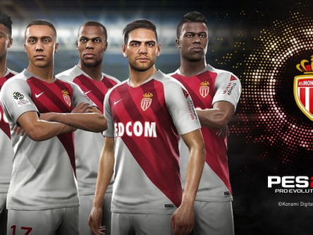 AS Monaco announced as PES 2019 partner club + more.