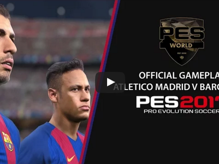PES 2017 Official gameplay videos.