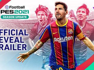 eFootball PES 2021 season update details revealed / trailer released.