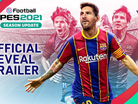 eFootball PES 2021 season update details revealed / trailer released.