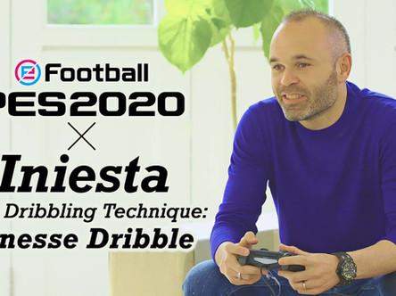 Andrés Iniesta: PES 2020 Gameplay Adviser.